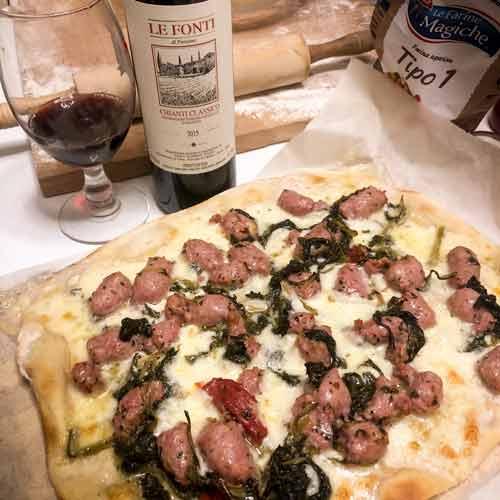 vino e pizza
